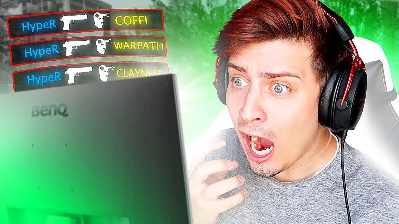 ШОУМАТЧ ПРОТИВ КОМАНДЫ COFFI в CS:GO! (Шоуматч Ютуберов на 100.000 Рублей)