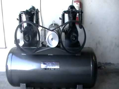 10 hp compresor de aire 10hp duplex 500 lt youtube