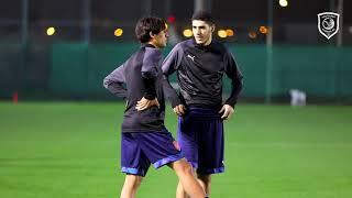 تدريب الدحيل لمواجهة نادي قطر في الاسبوع 12 من الدوري