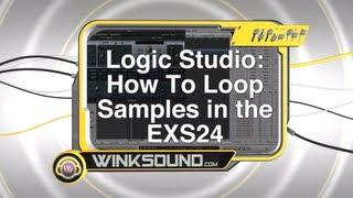 Logic Studio: How To Loop Samples in the EXS24