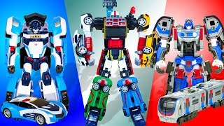 All Tobots  Athlon. Ten Transformers from Alpha to Magma Six