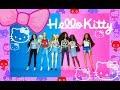 barbie hello kitty mini fashion packs review revision español