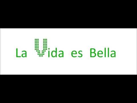 VOCALIS COR COL·LEGI SANTA MARIA - Promo 1 - La Vida es bella