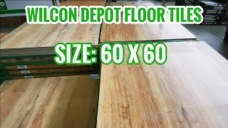 WILCON DEPOT WOOD EFFECT TILES | FLOOR TILE DESIGNS AND PRICES