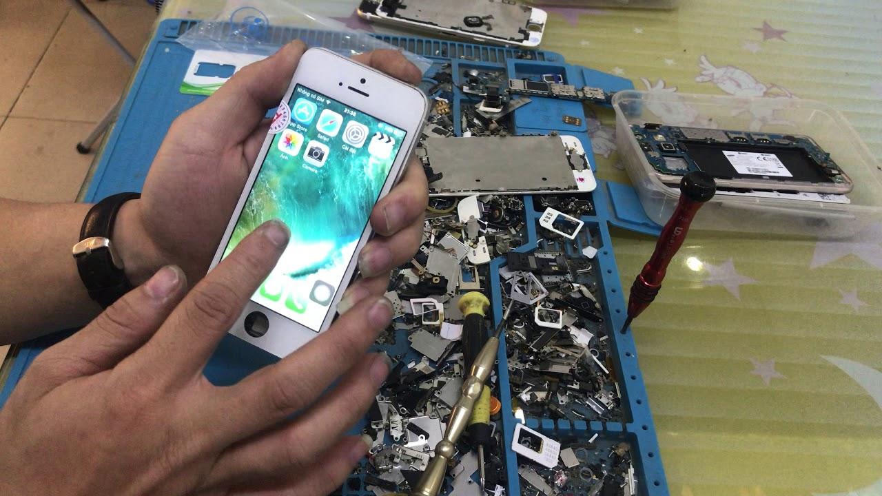 Hồi sinh Iphone 5G từ đống tro tàn, thợ thầy nhìn vô không thèm sửa