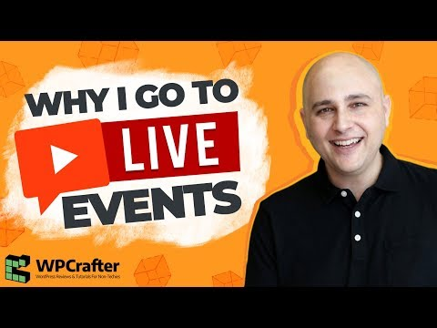Why You Should Attend Live Events & The Next Event I Am Attending (Hope To Meet You)