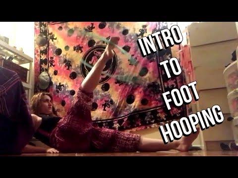Hoop Tutorial: Intro To Foot Hooping W/ Sailor Sunshine!