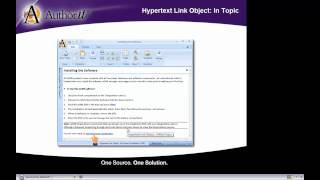 Hypertext Link Objects