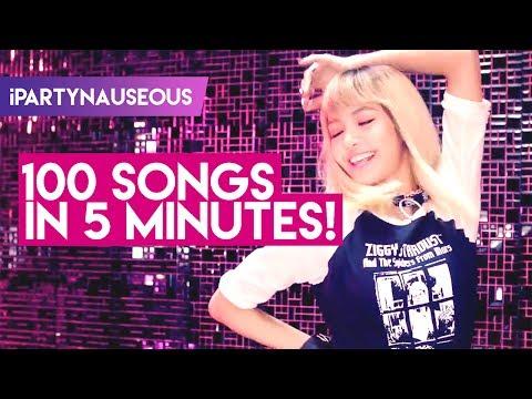 MY TOP 100 KPOP SONGS IN 5 MINUTES!