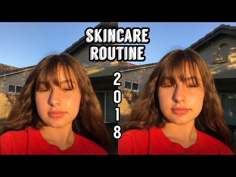 TEEN SKINCARE ROUTINE: how I keep my skin clear (SUMMER 2018)