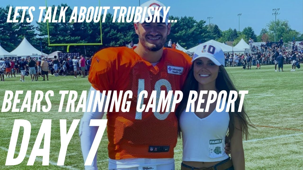 Chicago Bears Training Camp Report Day 7 : Lets Talk About