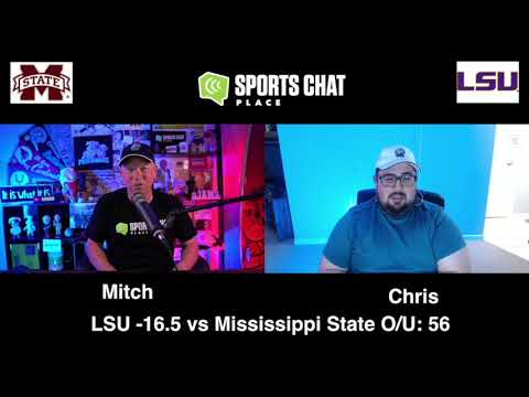 Mississippi State at LSU  Saturday 9/26/20 - College Football Picks & Prediction | Sports Chat Place