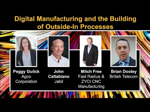 Group Discussion on Digital Manufacturing and the Building of Outside-In Processes