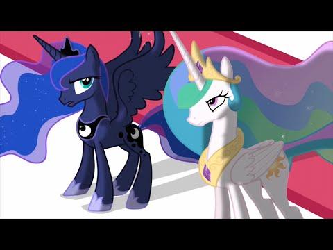Celestia and Luna scenes - Scootertrix the Abridged Ep1-17