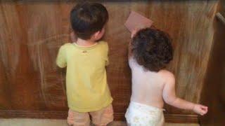 DIY - Preparing Wood Paneling for Painting