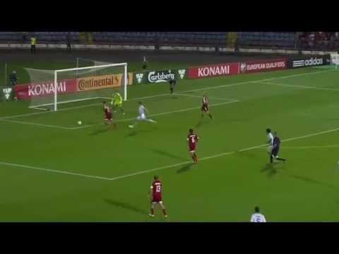 Лучшие моменты матча Армения-Дания(07.09.2015)