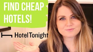 hoteltonight review | what is it? | find cheap hotels 2020