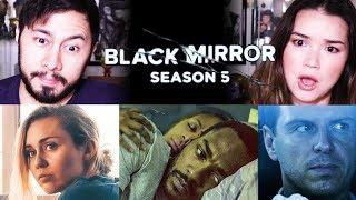 BLACK MIRROR | Netflix |  Season 5 | All Trailers | Reaction!