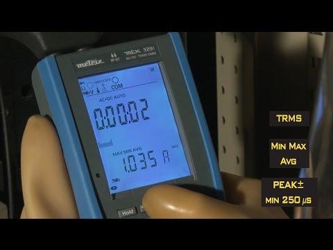 Chauvin Arnoux Hand-Multimeter MTX 3290 – ergonomisch, kompakt, robust und wasserdicht