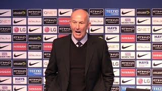 Manchester City 3-1 West Brom - Tony Pulis Full Post Match Press Conference