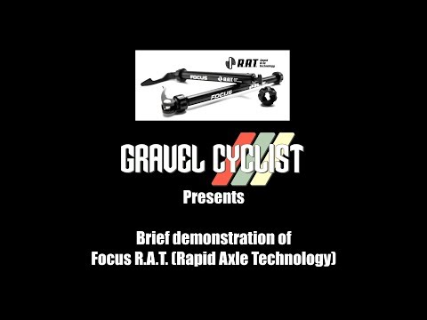Focus R.A.T. (Rapid Axle Technology) Thru-Axle - Demonstration