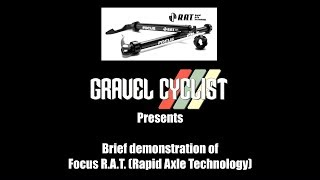 Focus R.A.T. (Rapid Axle Technology) Thru-Axle - Demonstration