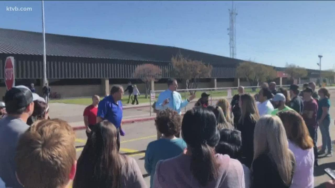 1 in custody, 3 injured after active shooter incident at Rigby Middle ...