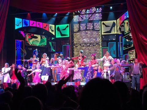 Kinky Boots Musical Review - Video Opening Night Cyndi Lauper Standing Ovation Adelphi Theatre