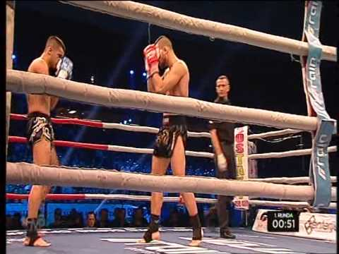 Laszlo Szabo vs Miljan Vidovic - WAKO PRO European title in K1 rules