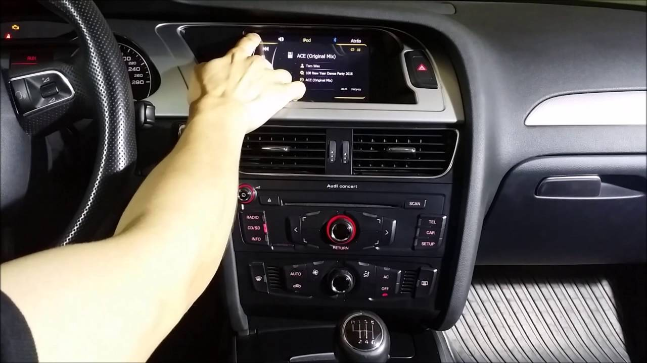 radio navegador dvd para audi a4 a4 b8 a5 y q5 youtube. Black Bedroom Furniture Sets. Home Design Ideas