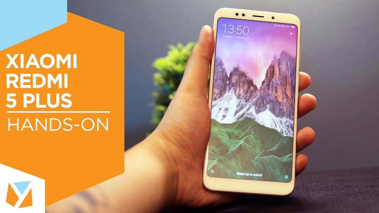Xiaomi Redmi 5 Plus Hands-On