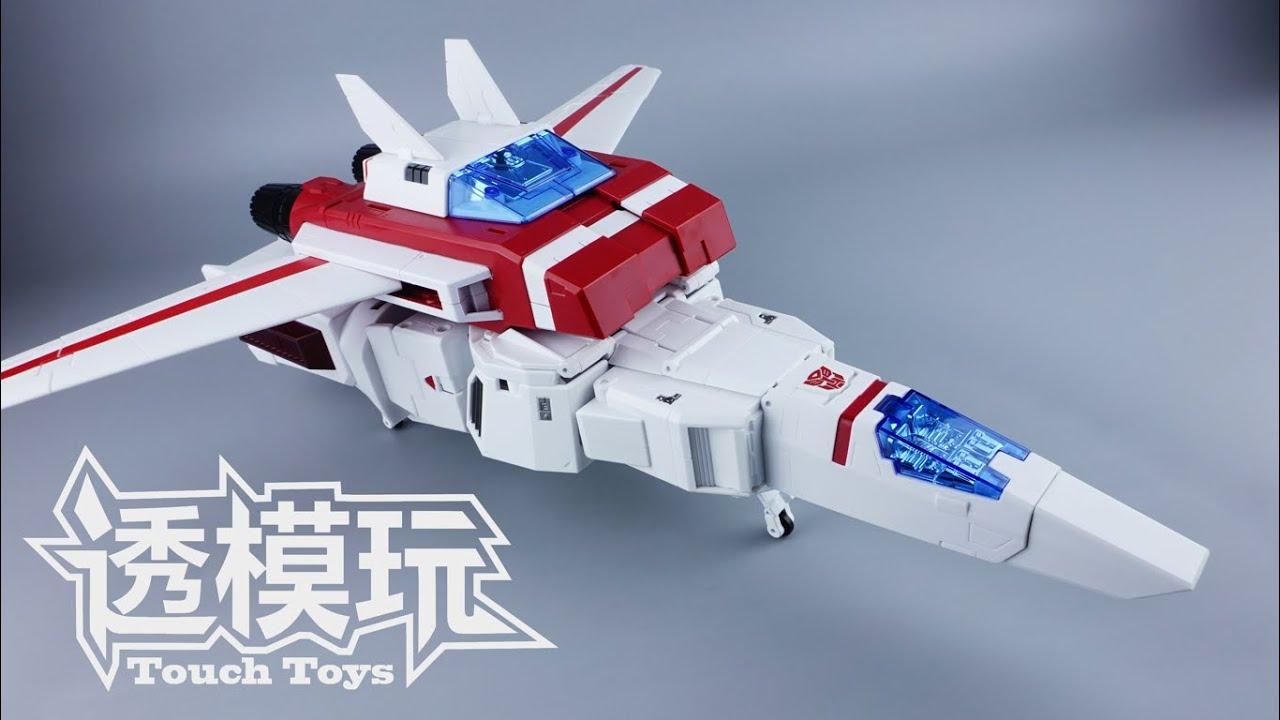 【SwiftTransform】JUSTICE! JETFIRE! FansToys Jetfire  FT-10 Masterpiece G1 Transformers 透模玩速变 變形金刚 天火