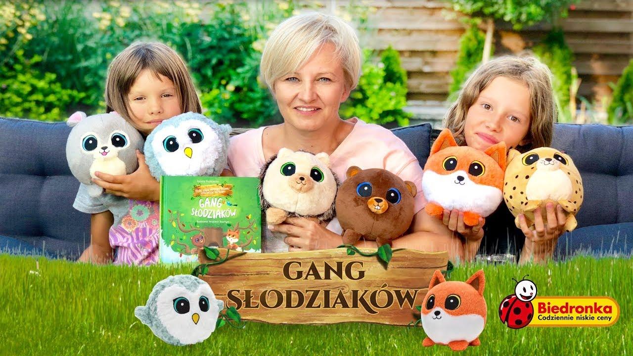 Gang Slodziakow Nowe Pluszaki Z Biedronki Juz 27 Sierpnia Youtube