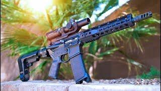 """Custom 10.5"""" AR Pistol Build // PART 3"""