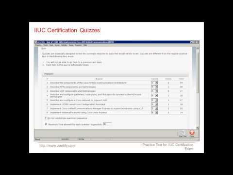 uCertify 640-460 Exam Practice Questions