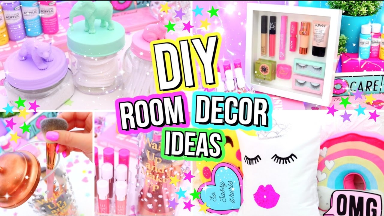 Bedroom Decor Homemade diy room decor 2017! easy diy room decor ideas you need to try