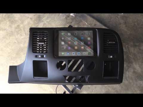 Silverado Ipad Mini In Dash Built By Rafa From Rafa Specialties.