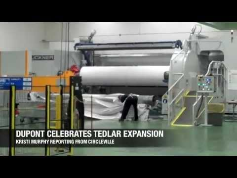 DuPont celebrates Tedlar expansion | Video Gallery