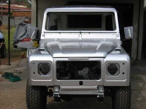 Land Rover Series 2a Reborn - YouTube