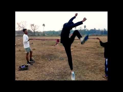 High jump practice 5' feet