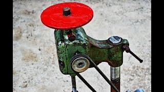 OLD SCISSOR JACK AND OLD WASHING MACHINE MOTOR ??? Briliant DIY Project