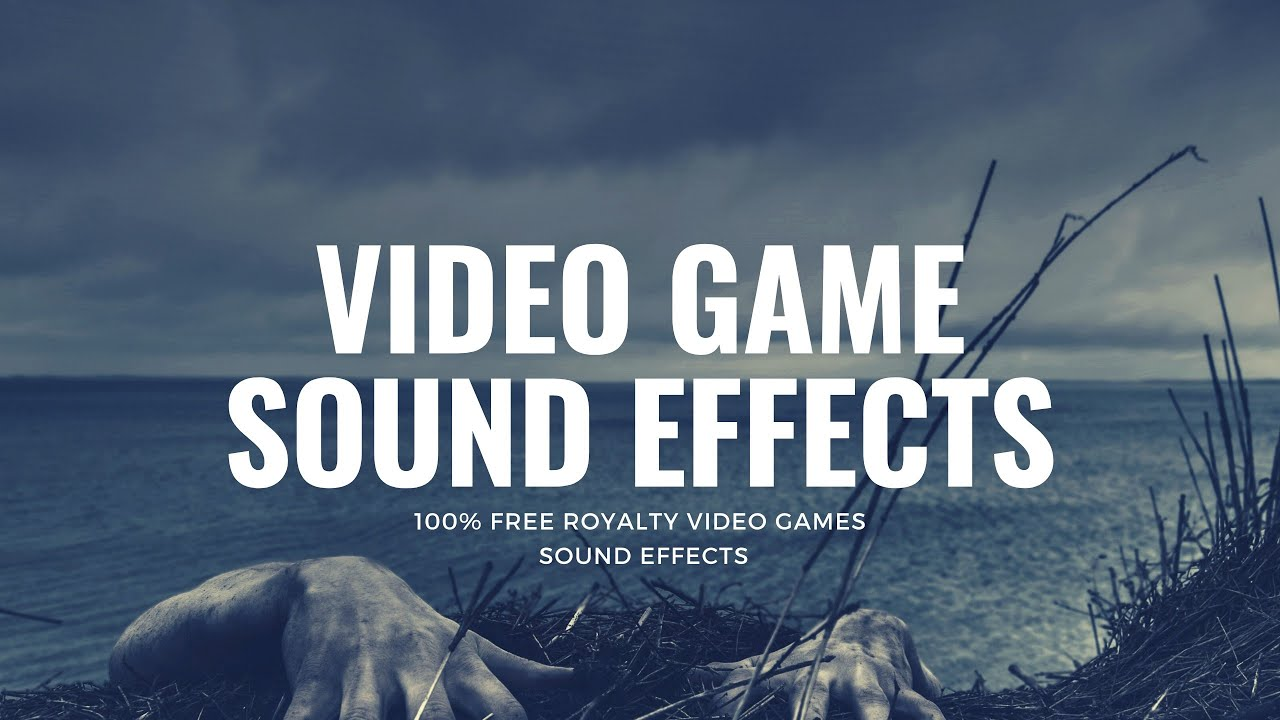 Video game sound effects.