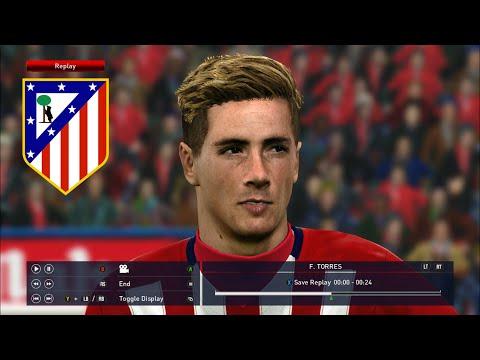 PES 2016 FACE Fernando Torres - Atlético Madrid [DOWNLOAD]