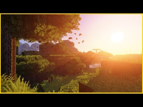 Minecraft 1.12 - BEAUTIFUL GRAPHICS! Shaders Mod, Better Foliage, Conquest Texture Pack