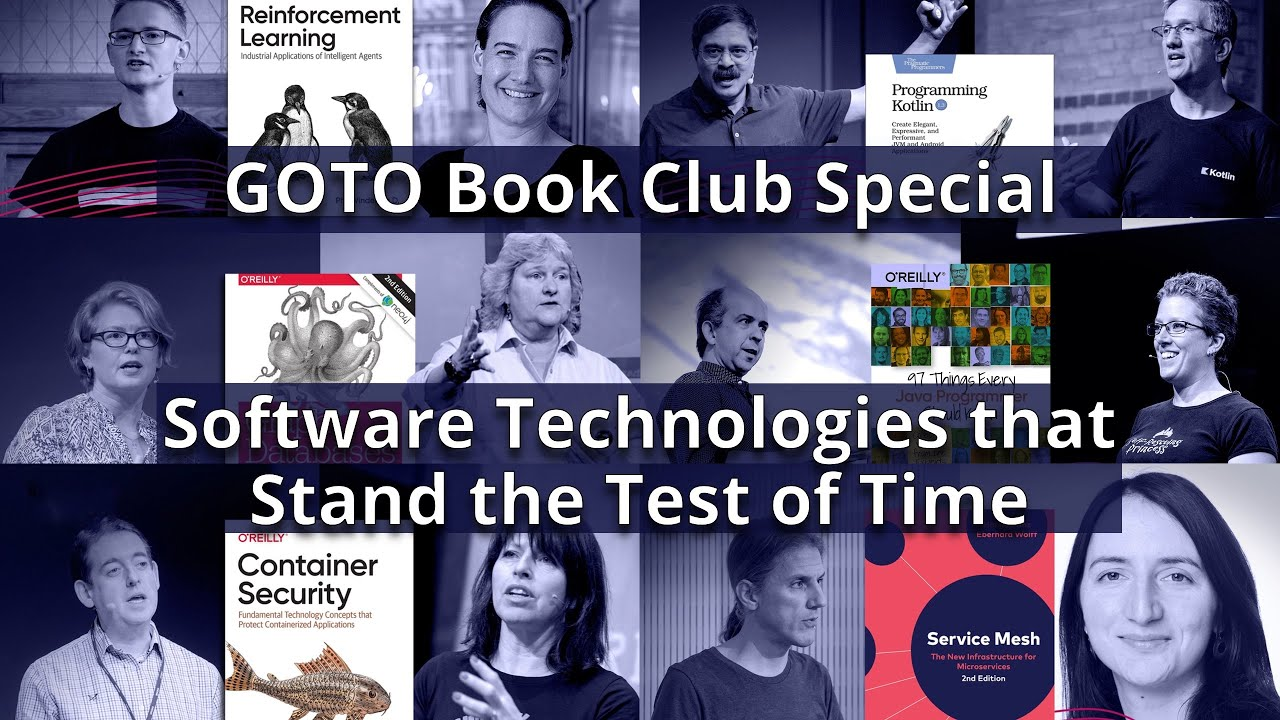 GOTO 2021 • Software Technologies that Stand the Test of Time • Various Speakers