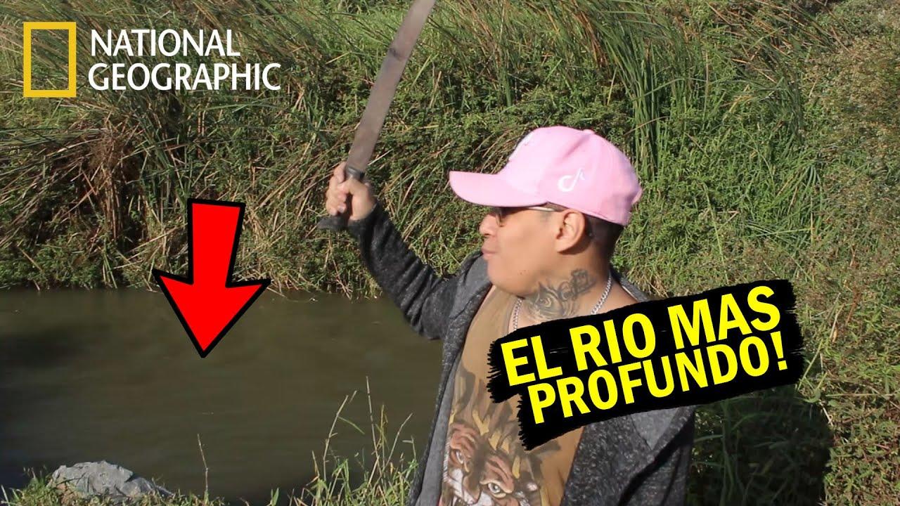 """NADANDO EN EL RIO MAS PELIGROSO DE CHIMBOTE """"Lacramarca""""    (EL RIO MAS PROFUNDO   Brush Vasquez"""