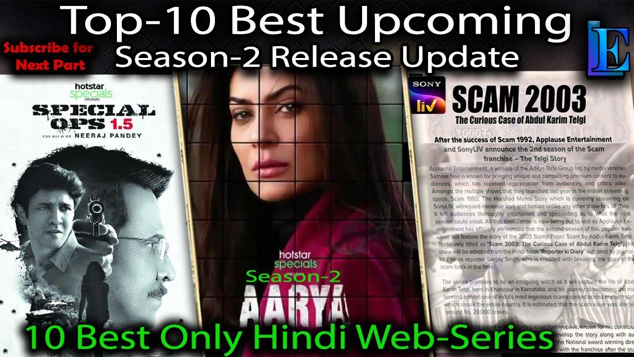 Download Top-10 Season-2 Hindi Web-Series Upcoming 2021 #Mirzapur #Aarya #Spl.Ops1.5