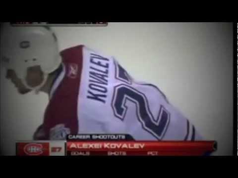 Kovalev High Stick Goal 5