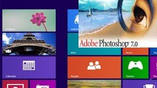 Installing of Adobe Photoshop in Windows 8