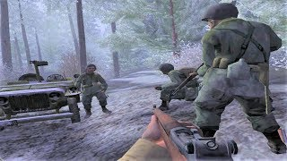 WW2 - Battle of the Bulge - Bastogne - Call of Duty United Offensive
